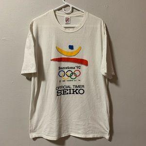 Vintage 92' Barcelona Olympics Sekio t shirt